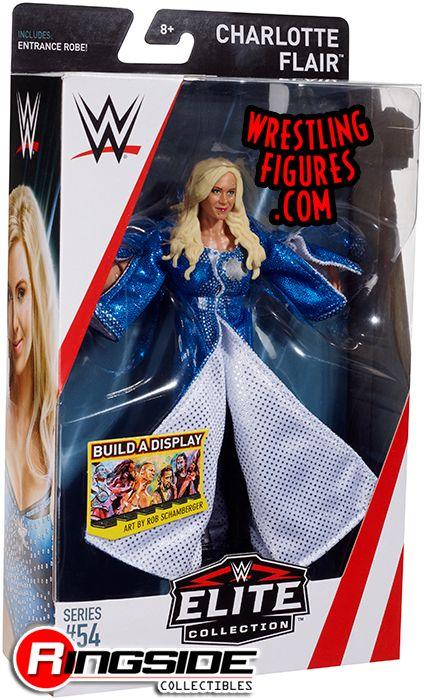 WWE WRESTLING ELITE FIGURE SERIES #54 SIGNED WOMEN/'S DIVISION CHARLOTTE FLAIR