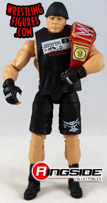 Série WWE MATTEL Elite combat Brock Lesnar