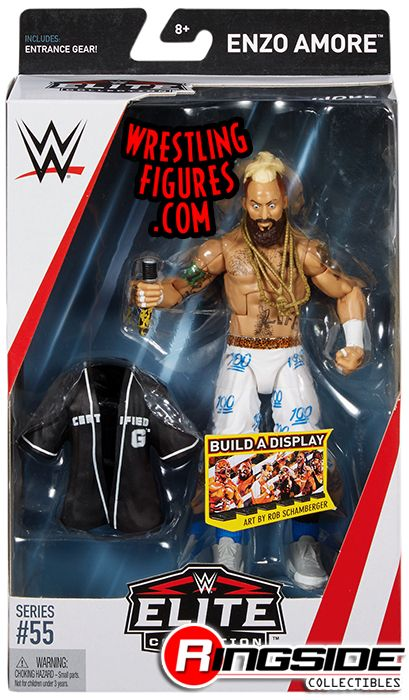 Enzo Amore Wwe Elite 55 Wwe Toy Wrestling Action Figure