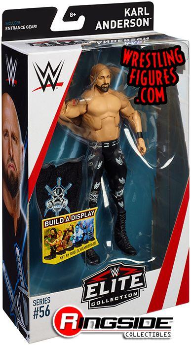 Karl Anderson WWE Mattel Elite Series 56 Brand New Figure Toy Mint Packaging