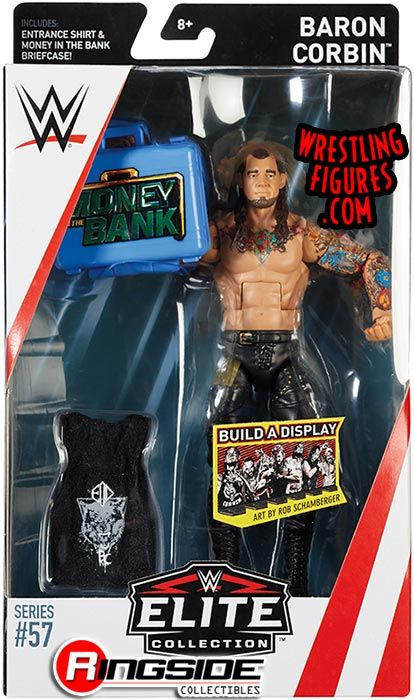 WWE Mattel figurine Accessoire Money in the Bank Briefcase Elite loose