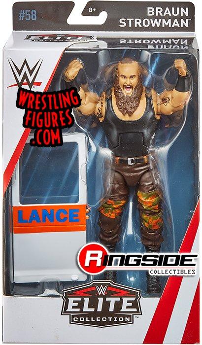 Braun Strowman Wwe Elite 58 Wwe Toy Wrestling Action