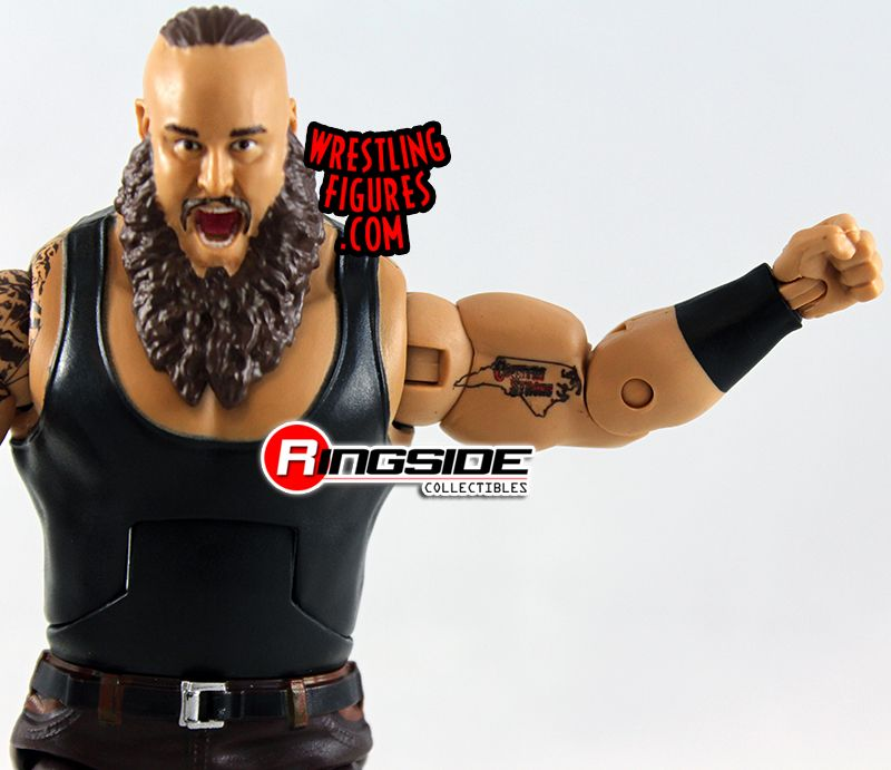 WWE Braun Stowman Action Figure Elite 58 Mattel Toy NEW