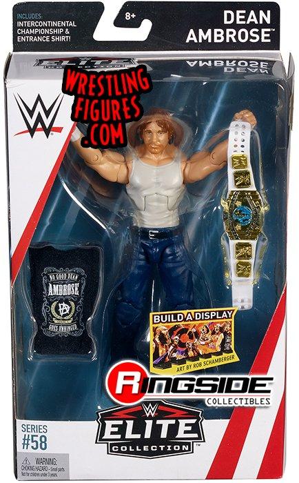 Action- & Spielfiguren Wrestling Dean Ambrose WWE Mattel Elite Collection Series # 58 With...