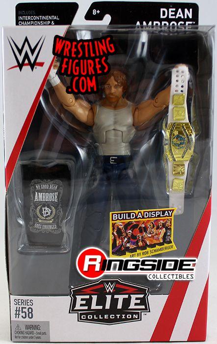 Dean Ambrose Wwe Elite 58 Wwe Toy Wrestling Action