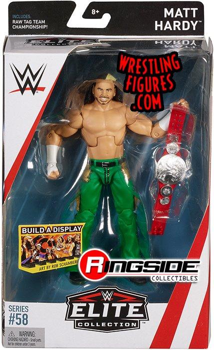 Matt Hardy Wwe Elite 58 Wwe Toy Wrestling Action Figure