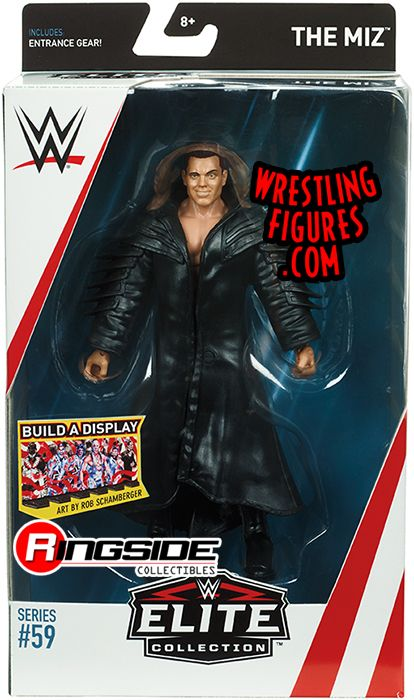 The Miz Wwe Elite 59 Wwe Toy Wrestling Action Figure By