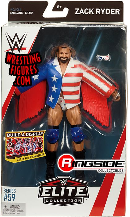 Zack Ryder Wwe Elite 59 Wwe Toy Wrestling Action Figure