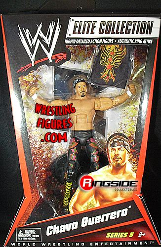 Chavo Guerrero Wwe Elite 5 Ringside Collectibles