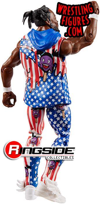 WWE Elite Collection Series 60 Action Figure Kofi Kingston with Entrance Vest