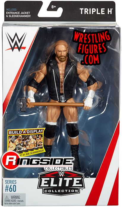 Triple H Hhh Wwe Elite 60 Wwe Toy Wrestling Action