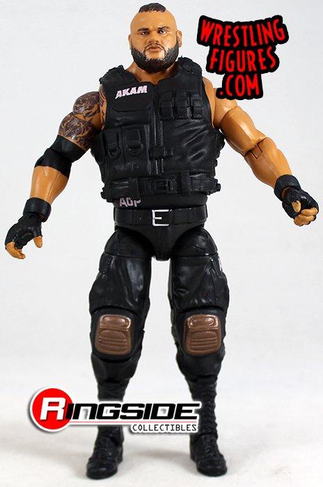 WWE Wrestling Elite Series 62 Akam Action Figure