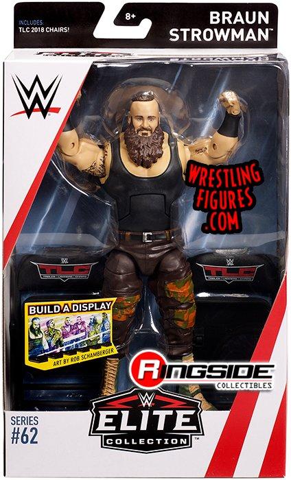 Braun Strowman Wwe Elite 62 Wwe Toy Wrestling Action