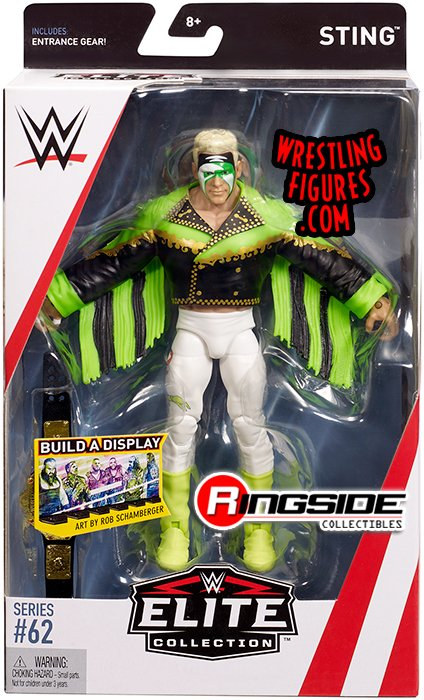 Surfer Sting Wwe Elite 62 Wwe Toy Wrestling Action