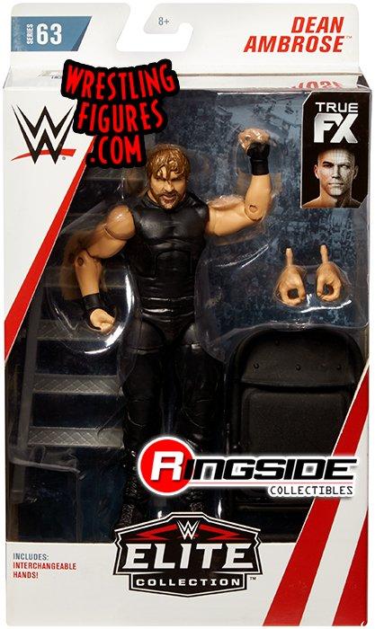 Dean Ambrose Wwe Elite 63 Wwe Toy Wrestling Action