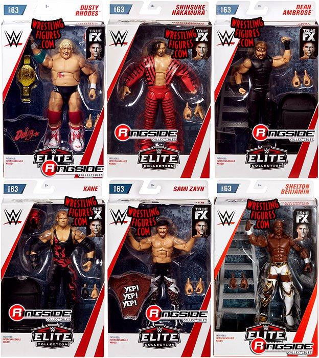 WWE Elite 63 Mattel Toy Wrestling Action Figure Sami Zayn