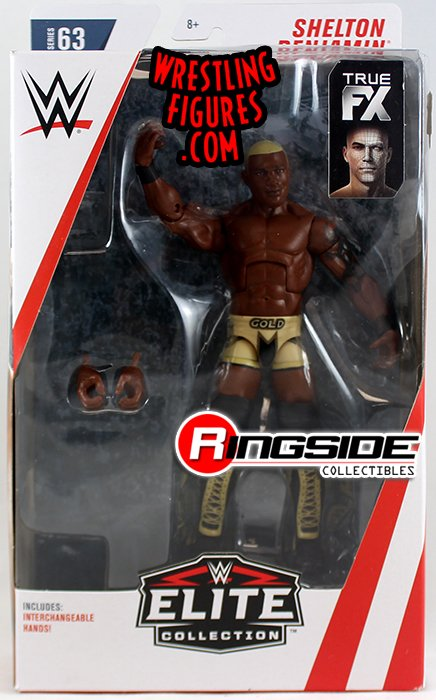 Chase Variant Quot Gold Standard Quot Shelton Benjamin Wwe