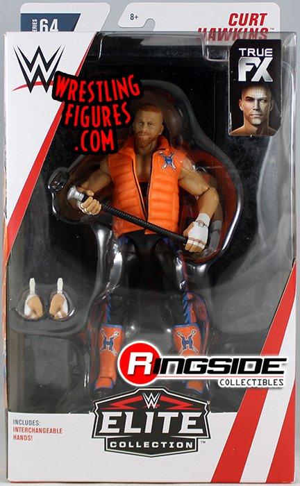 Chase Variant Black Gear Curt Hawkins Wwe Toy Wrestling