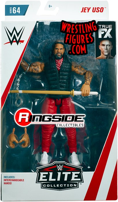 Jey Uso The Usos Wwe Elite 64 Wwe Toy Wrestling Action