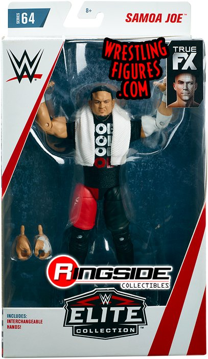 Samoa Joe Wwe Elite 64 Wwe Toy Wrestling Action Figure