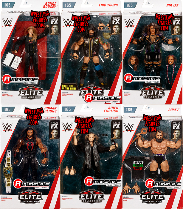 Wwe Elite 65 Toy Wrestling Action Figures By Mattel This