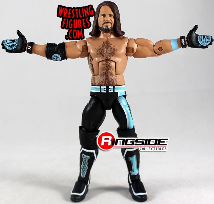 WWE Bray Wyatt Vs Braun Strowman /'Swamp Match/' Custom Shirt For Mattel Figures.
