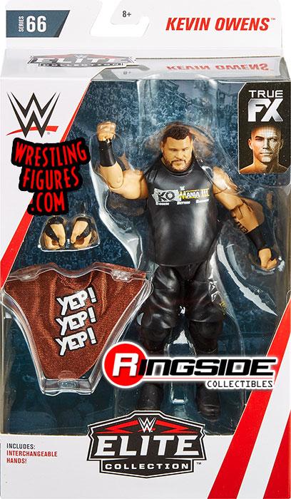 Chase Variant Kevin Owens Wwe Elite 66 Wwe Toy Wrestling