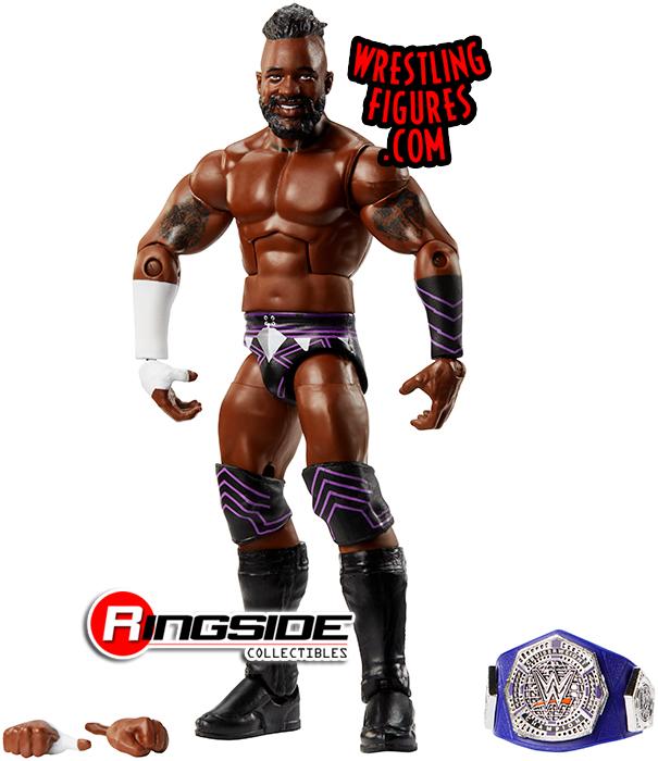 WWE CEDRIC ALEXANDER BELT FX ACCESSORIES MATTEL ELITE SERIES 67 WRESTLING FIGURE