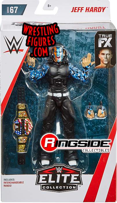 Hardy Boys Boyz WWE Mattel Elite 67 Jeff Hardy Figure Flashback