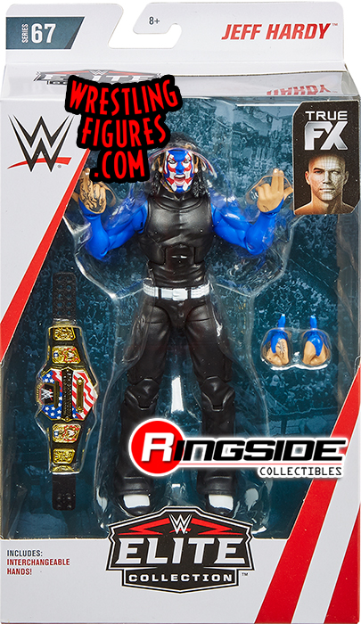 Chase Variant Jeff Hardy Wwe Elite 67 Wwe Toy Wrestling