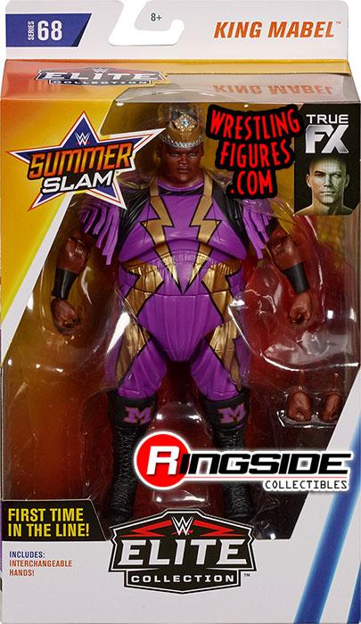 King Mabel Wwe Elite 68 Wwe Toy Wrestling Action Figure