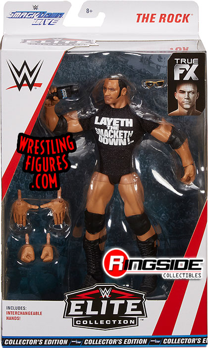 The Rock Wwe Elite 69 Exclusive Wwe Toy Wrestling Action