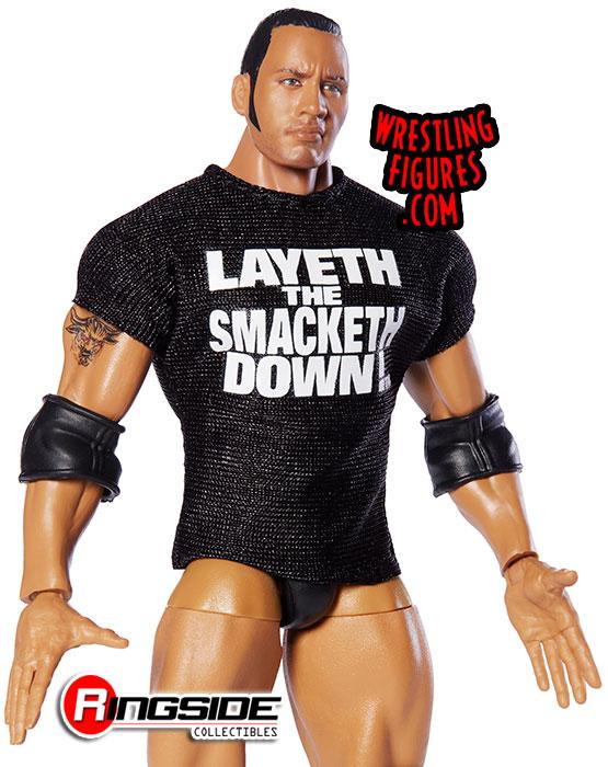 Wwe Elite 69 The Rock Mattel