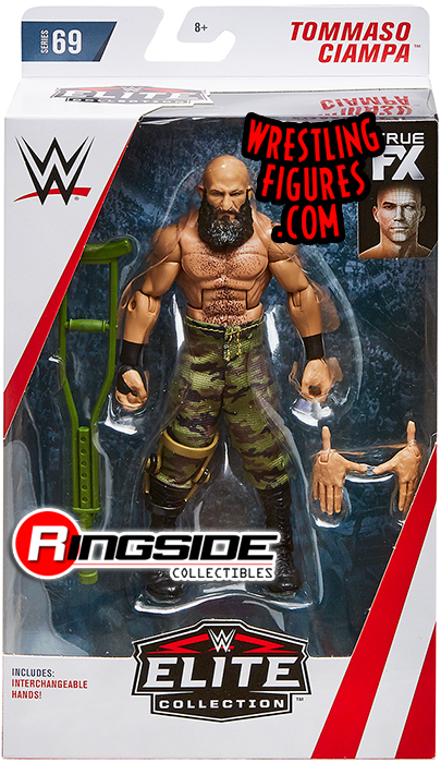 Tommaso Ciampa Wwe Elite 69 Wwe Toy Wrestling Action