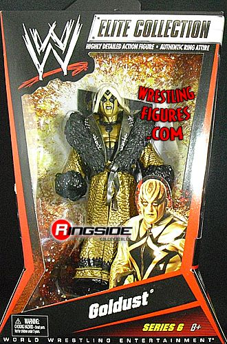 Goldust Wwe Elite 6 Ringside Collectibles