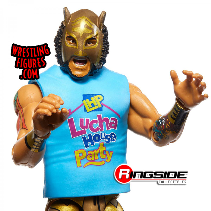 Lince Dorado WWE Mattel Elite Series 74 Action Figure NEW Chase Variant Gold