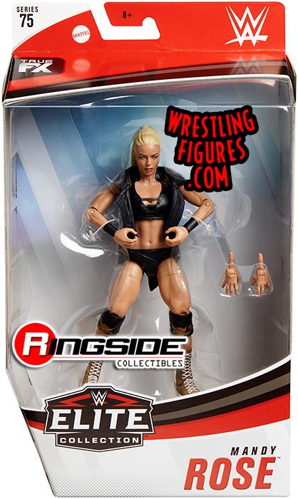 WWE Mattel Elite 75 Mandy Rose MOC Fire and Desire