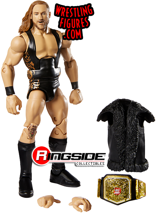 Pete Dunne WWE Elite Wrestling Action Figure   United Kingdom Champion Mattel
