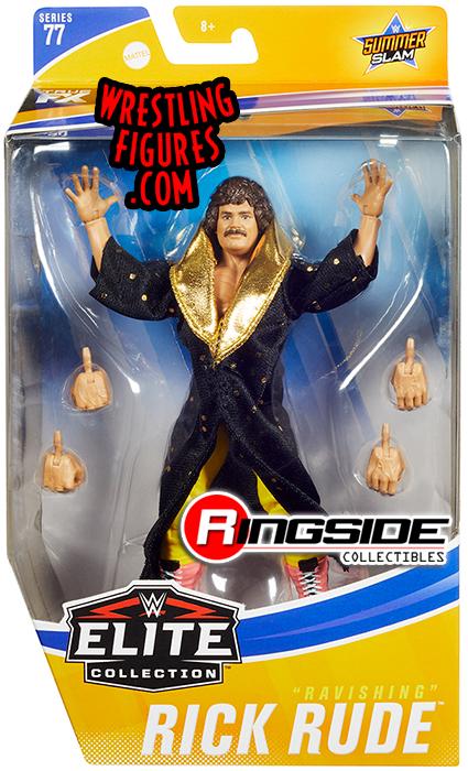 WWE Rick Rude Elite Series 77 Mattel Figure NEW Sealed Rare Ravishing WWF