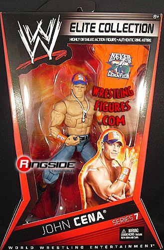 John Cena Wwe Elite 7 Ringside Collectibles
