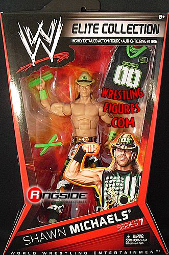 Shawn Michaels Wwe Elite 7 Ringside Collectibles