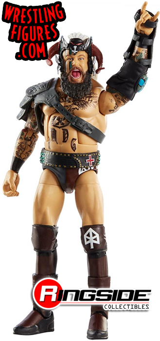 WWE Mattel Elite 80 Erik /& Ivar Viking Raiders en main les navires Dès que possible NXT Rare Comme neuf on Card