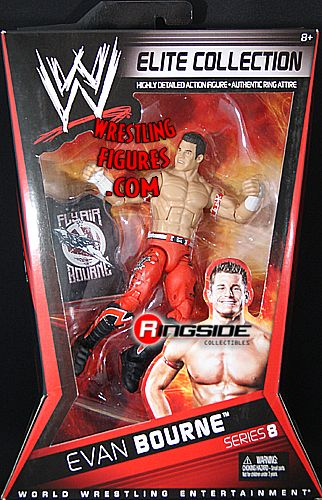 Evan Bourne Wwe Elite 8 Ringside Collectibles