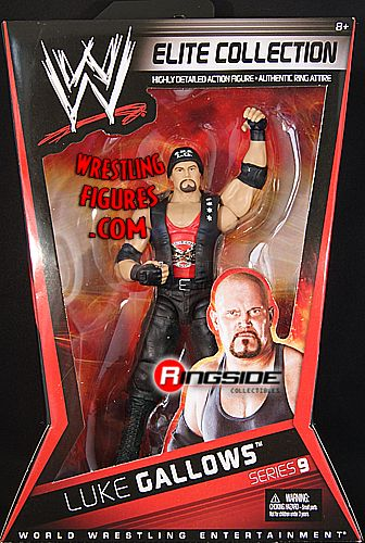 Luke Gallows Wwe Elite 9 Ringside Collectibles