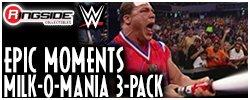 Mattel WWE Milk-o-Mania 3 Pack!
