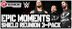Mattel WWE Shield Reunion 3-Pack!