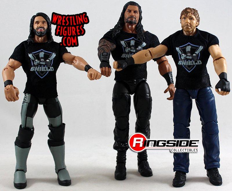 WWE The Sheild figures-Mattel-BRAND NEW-Sealed