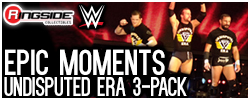 Mattel WWE Undisputed Era - Epic Moments!