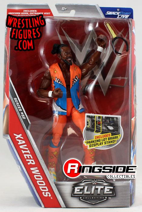 Error Figure - Kofi Kingston - WWE Elite 52 (In Xavier Woods