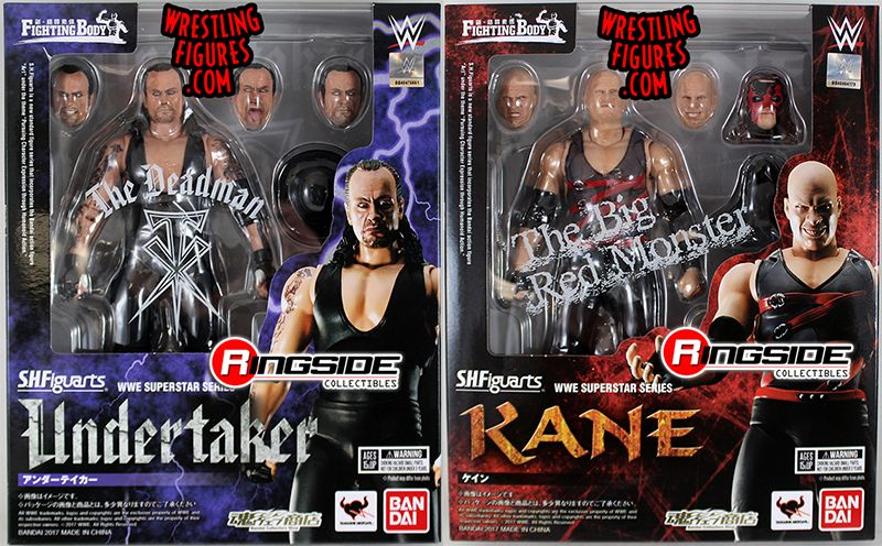 Undertaker Amp Kane Brothers Of Destruction Wwe S H